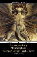 Die Verwandlung   Metamorphosis Book