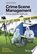 Crime Scene Management Book