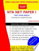 Nta Net Paper 1