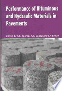 Performance of Bituminous and Hydraulic Materials in Pavements