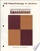 Industrial/Organizational Psychology in Action