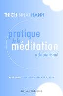 Pratique de la méditation à chaque instant Book