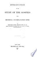 Introduction to the Study of the Gospels