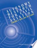 Autonomy Research for Civil Aviation