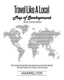 Travel Like a Local   Map of Swakopmund  Black and White Edition