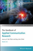 The Handbook of Applied Communication Research