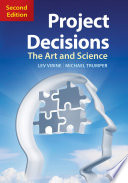 Project Decisions  2nd Edition Book