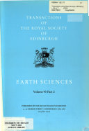 Transactions of the Royal Society of Edinburgh Book