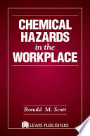 Chemical Hazards in the Workplace Book