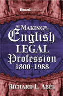 The Making of the English Legal Profession