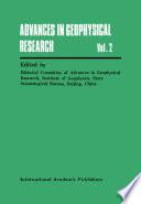 Advances In Geophysical Research Book PDF