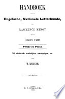 Select Specimens of the National Literature of England