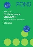 PONS-Grammatik Englisch kurz & bündig