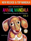 Adult Coloring Book Animal Mandala Stress Relieving Designs For Adult Relaxation Vol3