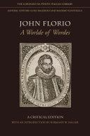 John Florio Pdf/ePub eBook