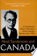 Aksel Sandemose and Canada