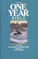 New American Standard, One Year Bible