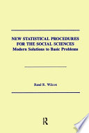 New Statistical Procedures for the Social Sciences Book