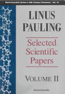 Linus Pauling: Biomolecular sciences