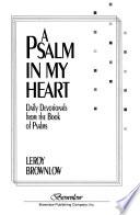 A Psalm in My Heart