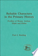 Reliable Characters In The Primary History PDF