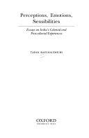 Perceptions  Emotions  Sensibilities