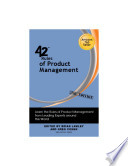 42 Rules of Product Management (2nd Edition)