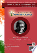 The International Journal Of Indian Psychology Volume 3 Issue 4 No 67