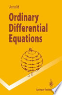Ordinary Differential Equations Book