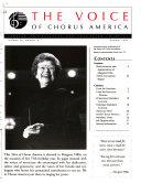 The Voice of Chorus America Book