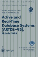 Active and Real Time Database Systems  ARTDB 95