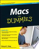 """""""Macs For Dummies®"""" by Edward C. Baig"""