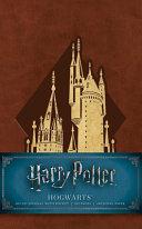 Harry Potter  Hogwarts Ruled Pocket Journal