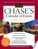 Chase s Calendar of Events 2019