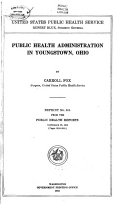 Reprint from the Public Health Reports