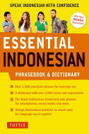 Essential Indonesian Phrasebook And Dictionary Book