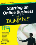 Starting an Online Business All in One Desk Reference For Dummies