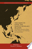 The Dispute Over the Diaoyu Senkaku Islands Book