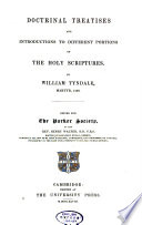 Doctrinal Treatises and Introductions to Different Portions of the Holy Scriptures