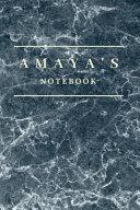 Amaya's Notebook