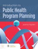 Effective Health Program Planning Book