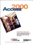 Access 2000  a Comprehensive Approach