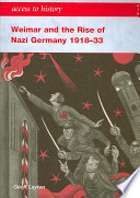 Weimar and the Rise of Nazi Germany