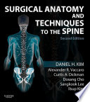 Surgical Anatomy And Techniques To The Spine E Book Book PDF