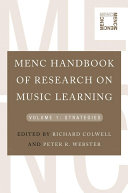 MENC Handbook of Research on Music Learning  Volume 1  Strategies