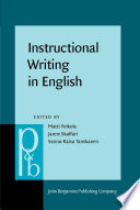 Instructional Writing In English