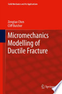 Micromechanics Modelling Of Ductile Fracture Book PDF