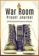 War Room Prayer Journal