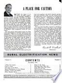 Rural Electrification News Book