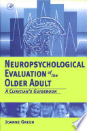 Neuropsychological Evaluation of the Older Adult